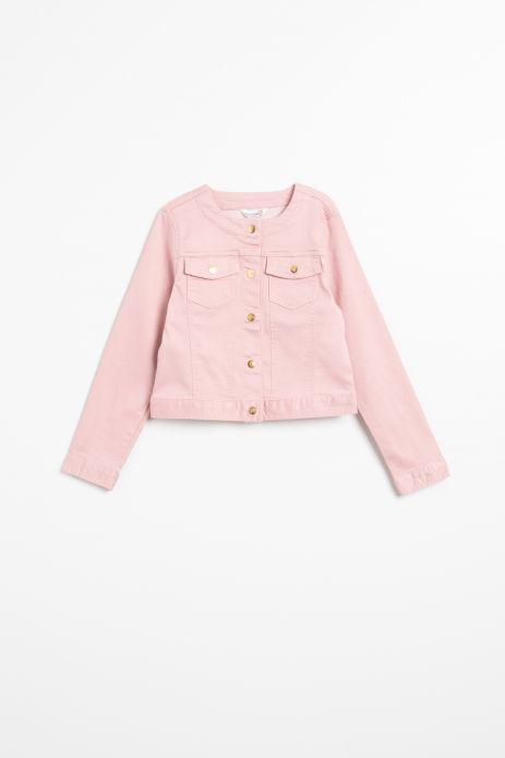 Shiny fabric jacket
