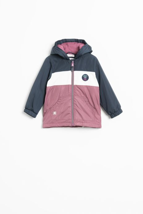 Jacket with light insulation and cotton lining