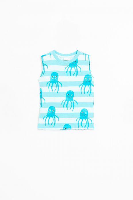 Sleeveless T-shirt
