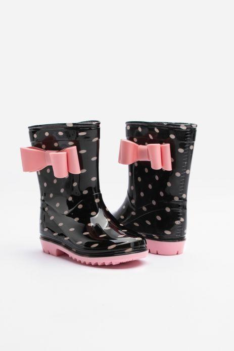 Glitter rain boots