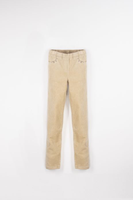 Fabric trousers
