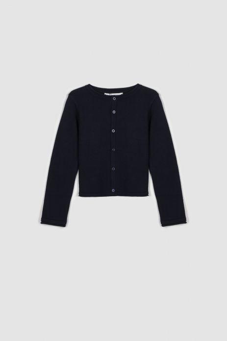 Zipped sweater